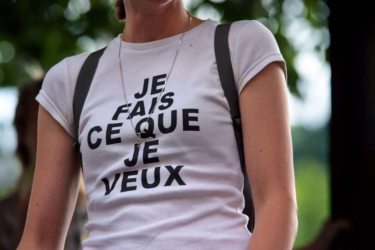 porter t-shirt personnalisé